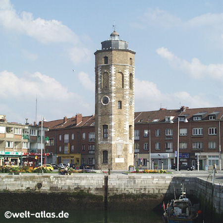 Turm des Lügners, Dünkirchen am Hafen