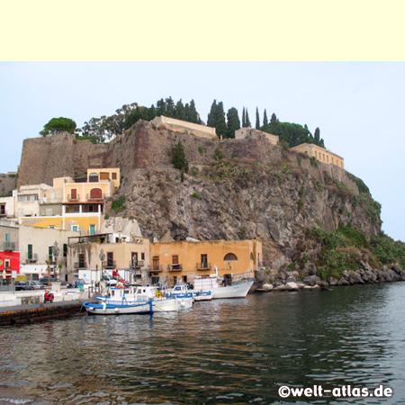 Castello iof Lipari Island, Aeolian Islands