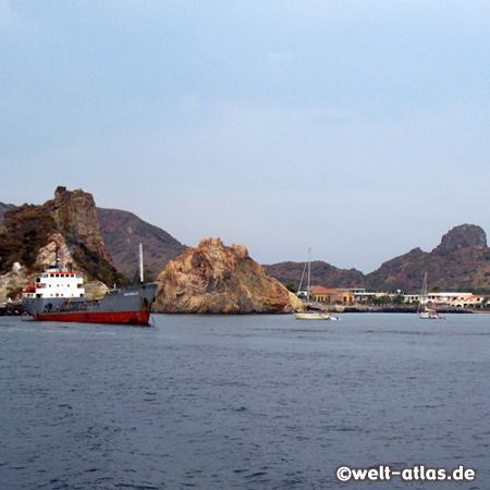 Porto di Levante, Vulcano, Äolische Inseln