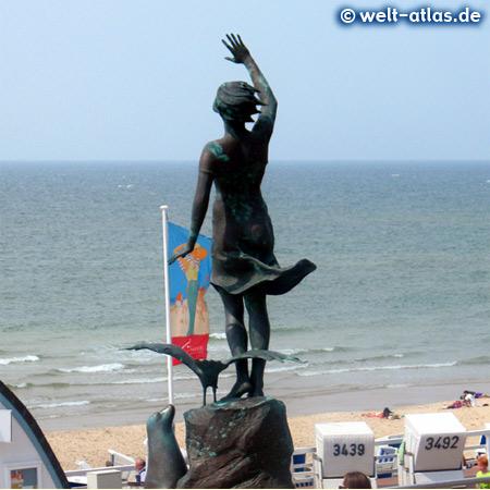 Foto Von Statue Westerland Auf Sylt Welt Atlas De