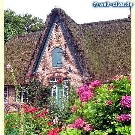 Frisian house, Takerwai, Keitum, Sylt Island