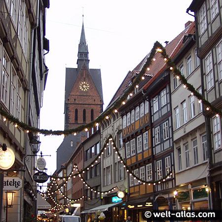 Weihnachtsmarkt, Hannover