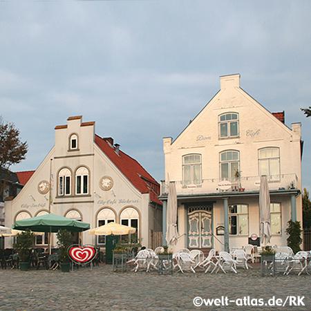 Marktplatz in Meldorf, Dithmarschen