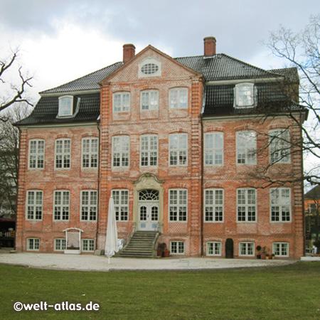 Südseite der Landdrostei in Pinneberg,heute Kreiskulturzentrum