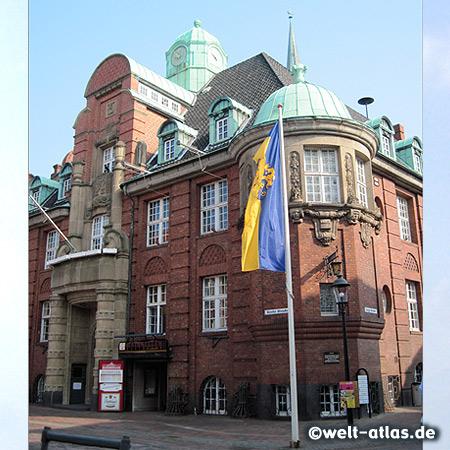 Das Rathaus in Buxtehude, Jugenstilbau