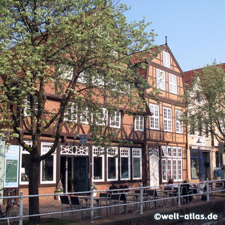 Half-timbered houses, Westfleth, Buxtehude