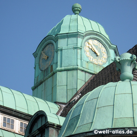 Clock tower of the town hall, Buxtehude