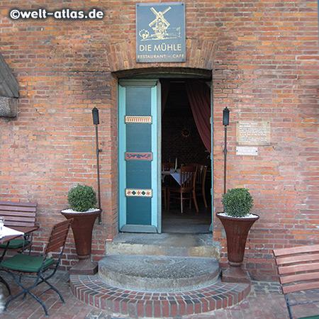 """Die Mühle, Restaurant & Café in der alten Borsteler Mühle """"Aurora"""" im Alten Land"""