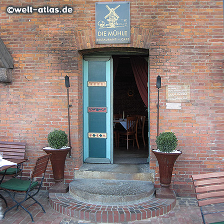 Restaurant & Café in an old windmill, Jork, Altes Land