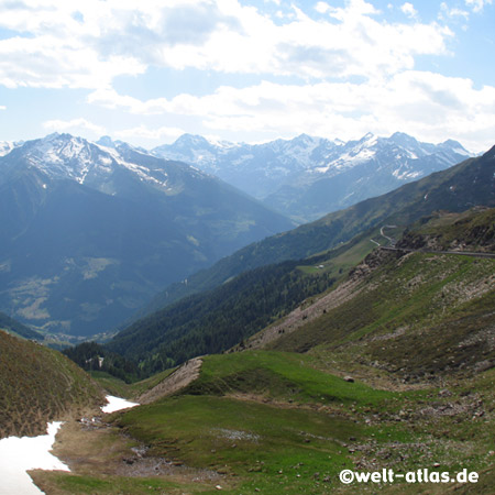Jaufenpass, Passo di Monte Giovo in Südtirol