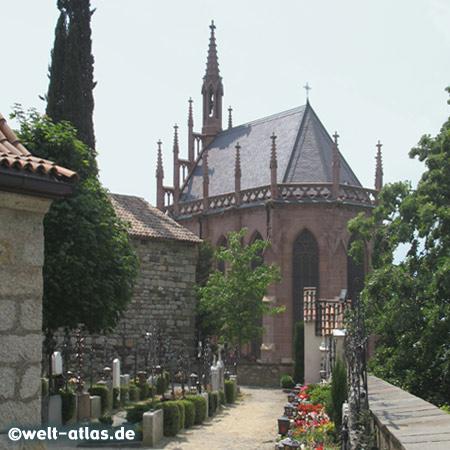 Mausoleum des Erzherzog Johann von Österreich, Friedhof von Schenna