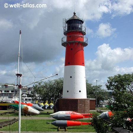 Lighthouse, BüsumPosition: 54° 07,7′ N / 08° 51,6′ E