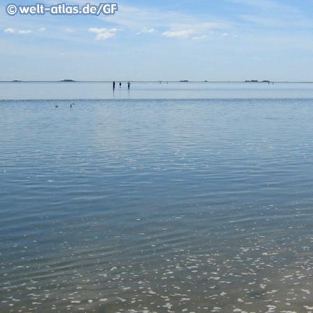 Nordsee bei Ebbe in Ostfriesland