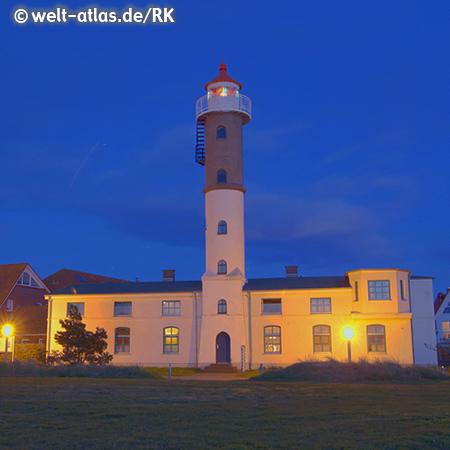 Abend am Leuchtturm von Timmendorf auf der Insel Poel