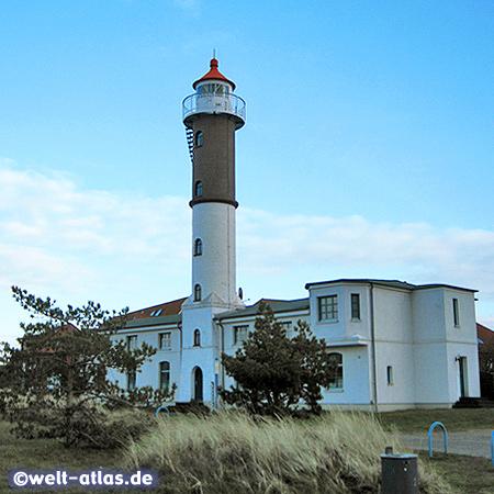 Leuchtturm der Insel Poel in der Wismarer Bucht