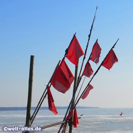 Im Hinterland der Ostseeküste am Stettiner Haff auf Usedom