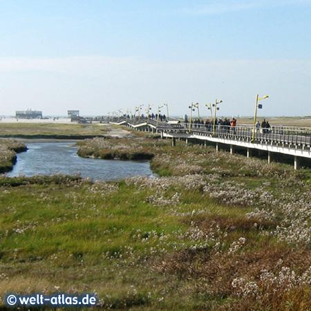 Neue Brücke zum Strand, OT Bad, St. Peter-Ording