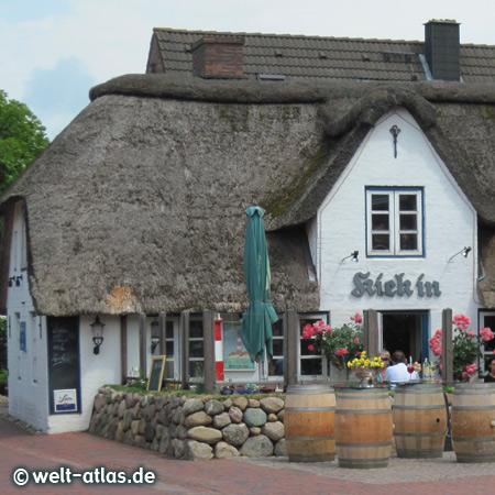 """St. Peter-Ording, Restaurant """"Kiek in"""" im Dorf"""