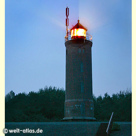 Das Feuer vom Böhler Leuchtturm, St. Peter-Ording –Position: 54° 17' N - 008° 39' E