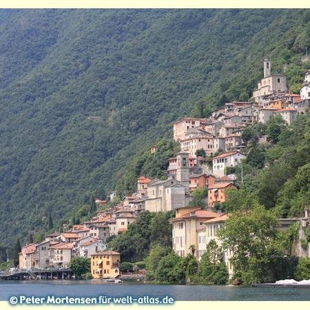 Albogasio, Valsolda am Luganer See/Lago di Lugano