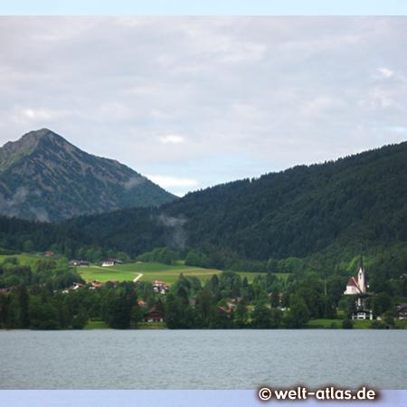 Lake Tegernsee, Bad Wiessee, Bavarian Alps