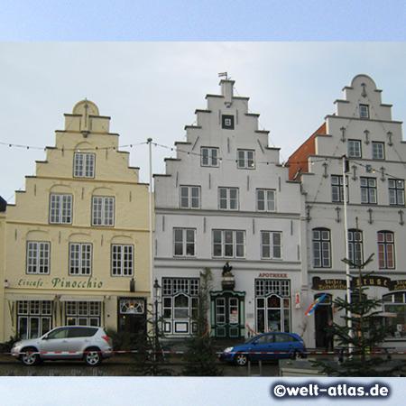foto treppengiebel in friedrichstadt deutschland welt. Black Bedroom Furniture Sets. Home Design Ideas