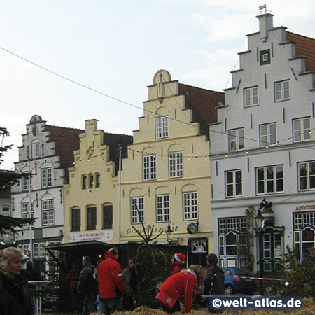 foto marktplatz in friedrichstadt deutschland welt. Black Bedroom Furniture Sets. Home Design Ideas