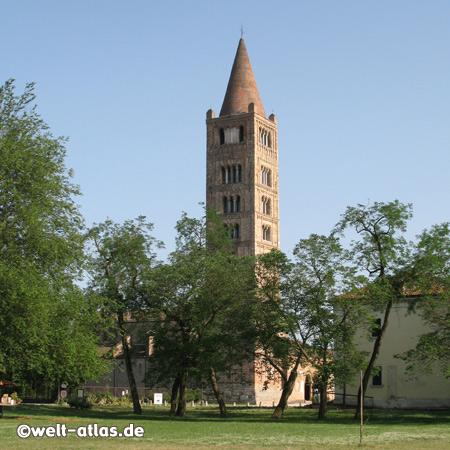 Abbey of Pomposa, Benedictine monastery, Emilia-Romagna, Italy