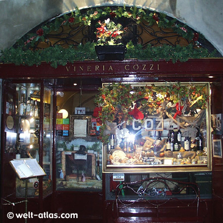 Bergamo, Lombardy, ItalyVineria Gozzi
