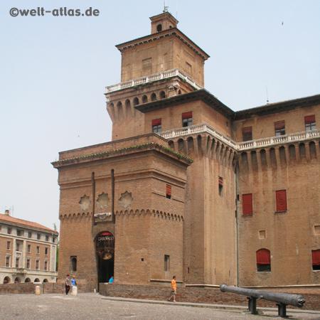 Castle Estense Castello Estense Ferrara Emilia-Romagna, Italy