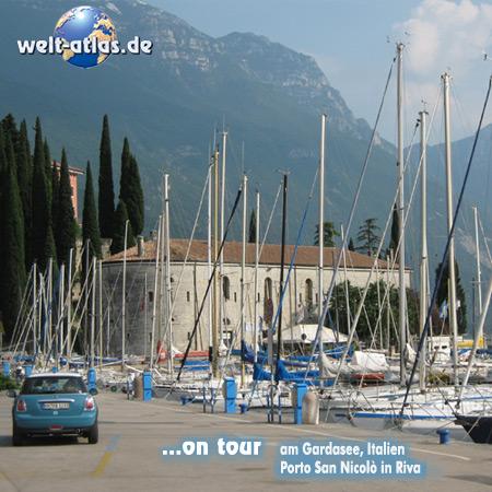 welt-atlas ON TOUR with Mini in Italy,Garda Lake, Porto San Nicolò, Riva