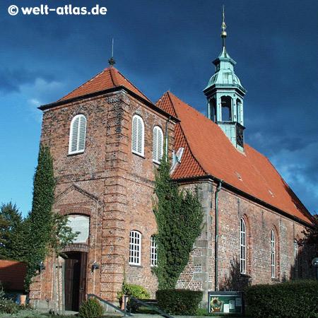 Schloßkirche in Ahrensburg, Schleswig-Holstein, zwischen Hamburg und Lübeck, Deutschland
