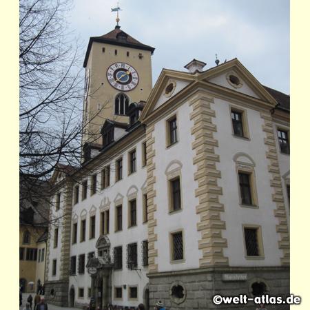Turm des Alten Rathauses von Regensburg