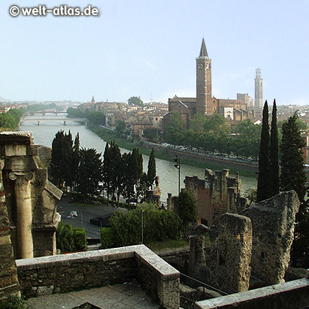 UNESCO World Heritage Site, Verona and the River Adige, church Sant'Anastasia