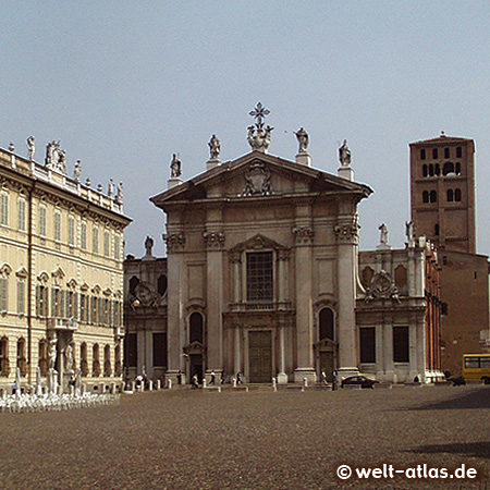 Duomo di Mantova, Piazza Sordello