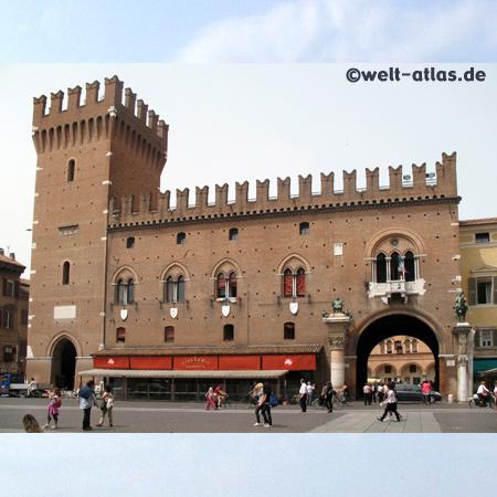 Palazzo Municipale in Ferrara Emilia-Romagna, Italien