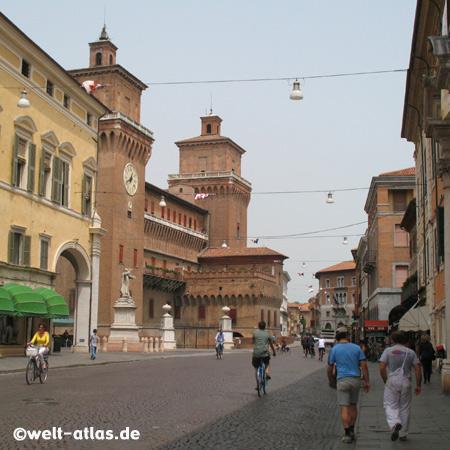 Castle Estense, Ferrara, Emilia-Romagna, Italy