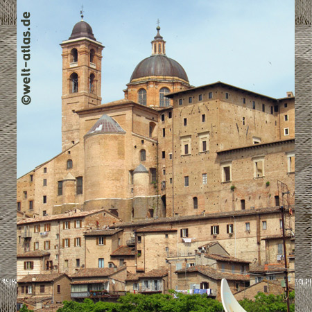 Dom von Urbino, Marken, Italien