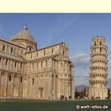 UNESCO World Heritage Site Pisa, Leaning Tower and Cathedral