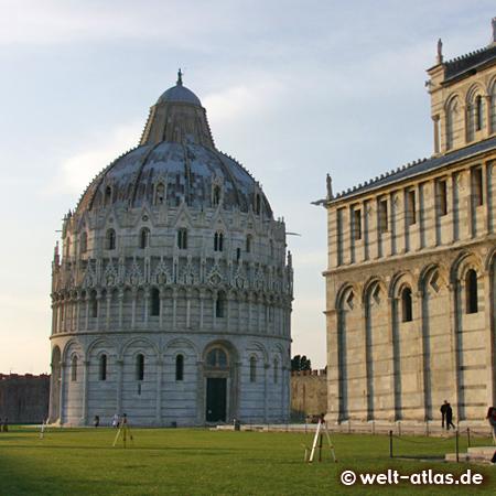 Baptistry at Piazza del Duomo, Pisa, UNESCO World Heritage Site