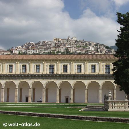 UNESCO World Heritage Site Certosa di Padula, Cilento National Park, Campania