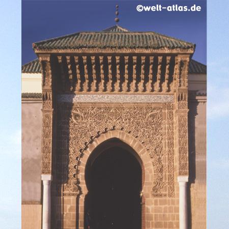Meknes, Mausoleum des Moulay Ismail