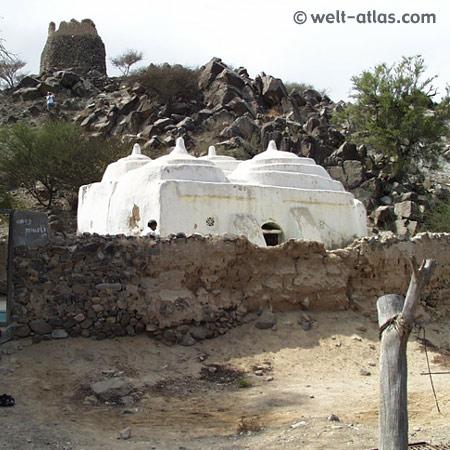 Moschee von Bidiyah, Emirat Fujairah, älteste Moschee der VAE