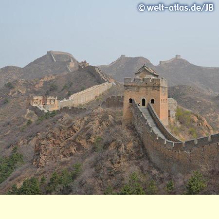 Teil der Chinesischen Mauer, UNESCO Welterbe