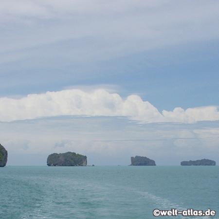 Kleine Inseln der Seychellen