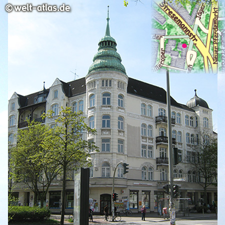 Neuer Pferdemarkt, Hamburg, St. Pauli http://picknweight.de