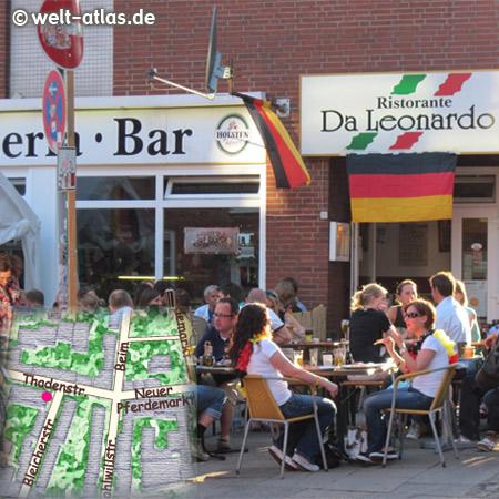 Ristorante Da Leonardo, St. Pauli, Hamburg Thadenstr. 15 Pizza & Italian Restaurant New small family Neuer PferdemarktHamburg St. Pauli Germany