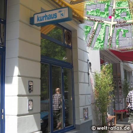 Kurhaus, Beim Grünen Jäger, cozy bar