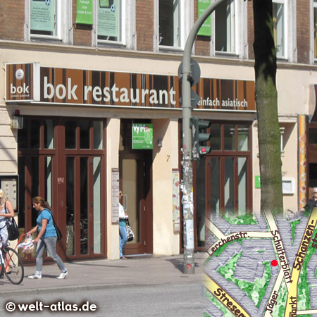 bok restaurant, einfach asiatisch Schulterblatt 3