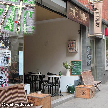 Caffe Latte, small coffee shop with homemade cakes and coffee specialtieshttps://www.facebook.com/caffelatte.rocks/